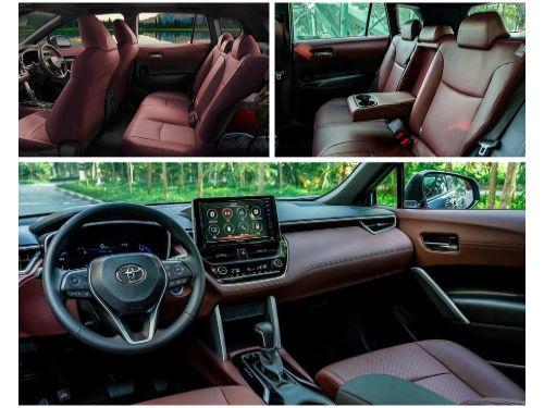 Hình minh họa: Động cơ vận hành Toyota Corolla Cross 2021 khác biệt