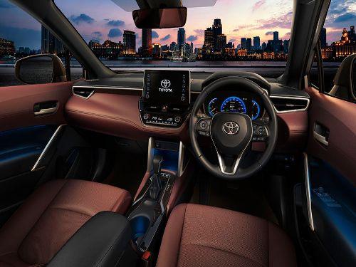 Hình minh họa: Thiết kế ngoại thất Toyota Corolla Cross 2021 năng động