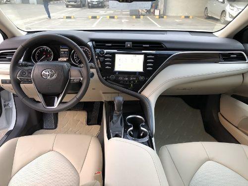 Hình minh họa: Thiết kế nội thất Toyota Camry 2.0G hiện đại