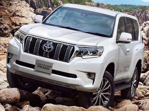 Hình minh họa: Toyota Prado 2022 trang bị đầy đủ tính năng an toàn