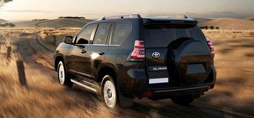 Hình minh họa: Toyota Prado 2022 sẽ về Việt Nam cuối năm 2021