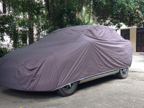 Hình minh họa: Vải bạt che ô tô bạt thường